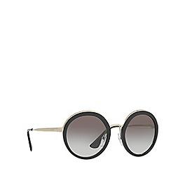 Prada - Black PR50TS round sunglasses