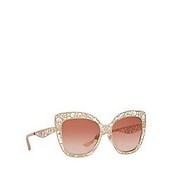 Dolce & Gabbana - Pink DG2164 butterfly sunglasses