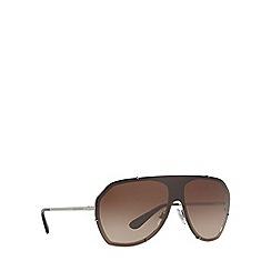 Dolce & Gabbana - Gunmetal DG2162 pilot sunglasses