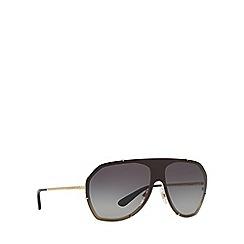 Dolce & Gabbana - Gold DG2162 pilot sunglasses