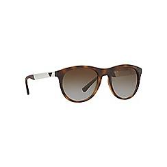 Emporio Armani - Havana phantos frame brown lense sunglasses
