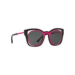 Emporio Armani - Pink EA4091 square sunglasses