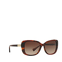 Ralph - Brown RA5223 rectangle sunglasses