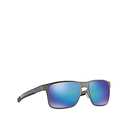 Oakley - Matte gunmetal 'Holbrook' square OO4123 sunglasses