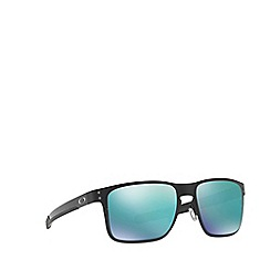 Oakley - Matte black 'Holbrook' square OO4123 sunglasses
