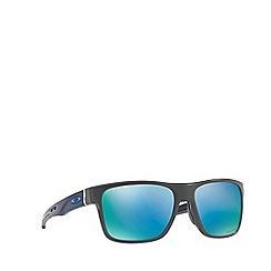 Oakley - Matte grey 'Crossrange' OO9361 square sunglasses