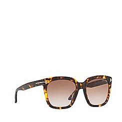 Tom Ford - Tortoiseshell FT0502 rectangle sunglasses
