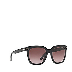 Tom Ford - Black FT0502 rectangle sunglasses