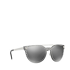 Versace - Silver VE2177 cat eye sunglasses