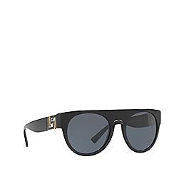 Versace - Black VE4333 round sunglasses