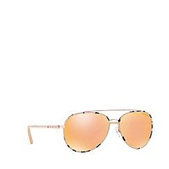 Michael Kors - Pink Tortoiseshell 'Ida' pilot MK1019 sunglasses