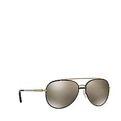 Michael Kors - Gold marble 'Ida' pilot MK1019 sunglasses