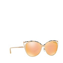 Michael Kors - Pink Tortoiseshell 'Ina' cat eye MK1020 sunglasses