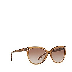 Michael Kors - Brown floral 'Jan' cat eye MK2045 sunglasses