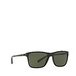 Ralph Lauren - Black RL8155 square sunglasses