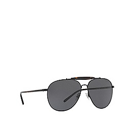 Polo Ralph Lauren - Black PH3106 pilot sunglasses
