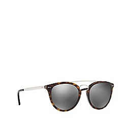 Polo Ralph Lauren - Shiny dark havana PH4121 round sunglasses