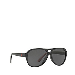 Polo Ralph Lauren - Matte black PH4123 pilot sunglasses