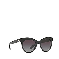 Dolce & Gabbana - Black DG4311 oval sunglasses