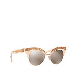 Dolce & Gabbana - Pink DG6109 irregular sunglasses