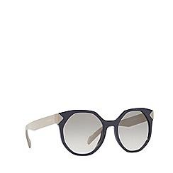 Prada - Violet PR 11TS irregular sunglasses