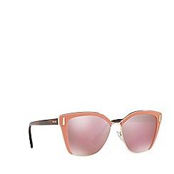 Prada - Pink PR 56TS square sunglasses