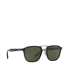 Prada - Black PR 12TS pillow sunglasses
