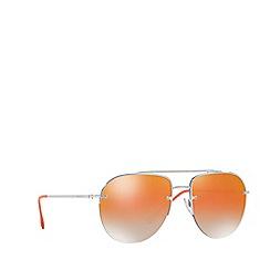 Prada Linea Rossa - Gunmetal PS 53SS pilot sunglasses