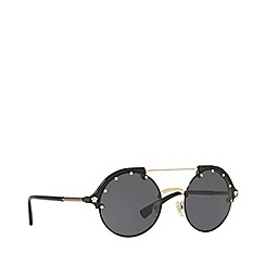 Versace - Gold VE4337 round sunglasses