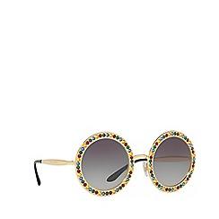 Dolce & Gabbana - Gold 0DG2170B Round sunglasses