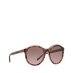 Michael Kors - Pink graphic 'Mae' round MK2048 sunglasses
