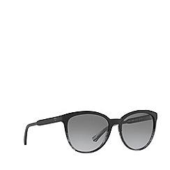 Emporio Armani - Black EA4101 cat eye sunglasses