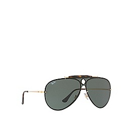 Ray-Ban - Gold 0RB3581N Pilot sunglasses