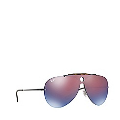 Ray-Ban - Black 0RB3581N Pilot sunglasses