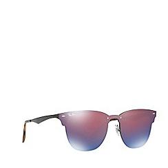 Ray-Ban - Black 0RB3576N square sunglasses