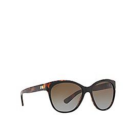Ralph Lauren - Black RL8156 cat eye sunglasses