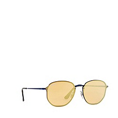 Ray-Ban - Blue RB3579N square sunglasses