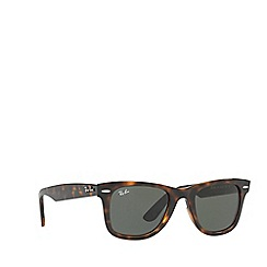 Ray-Ban - Brown 0RB4340 square sunglasses
