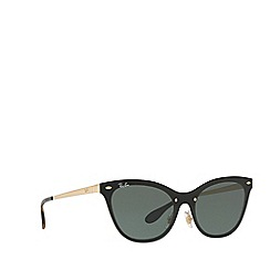 Ray-Ban - Gold blaze cat eye sunglasses
