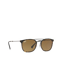Ray-Ban - Brown 0RB4286 square sunglasses