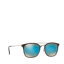 Ray-Ban - Havana rb4286 square sunglasses