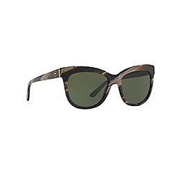 Ralph Lauren - Brown 0rl8158 square sunglasses