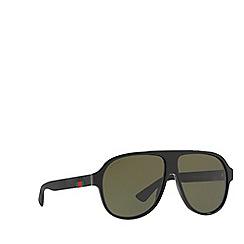 Gucci - Black 0GC000969 Pilot sunglasses