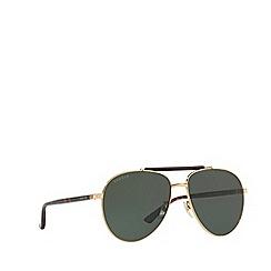 Gucci - Gold GG0014S round sunglasses