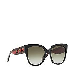 Gucci - Black GG0059S rectangle sunglasses