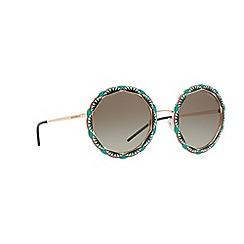 Emporio Armani - Pink 0ea2054 round sunglasses
