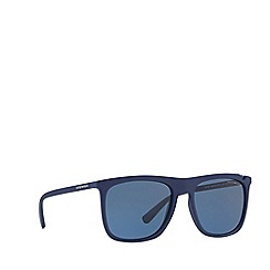 Emporio Armani - Blue EA4095 square sunglasses
