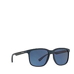 Emporio Armani - Blue 0ea4104 square sunglasses