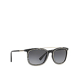 Versace - Black VE4335 square sunglasses