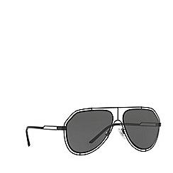 Dolce & Gabbana - Black DG2176 pilot sunglasses